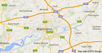 Warrington area covered
